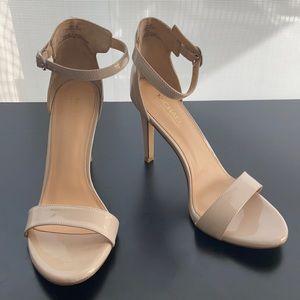 Michael Shannon Tan Patent Heels